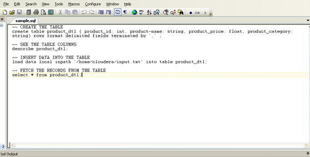 SQL File
