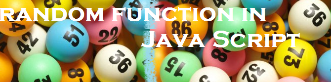 Random function in java script – How it works?