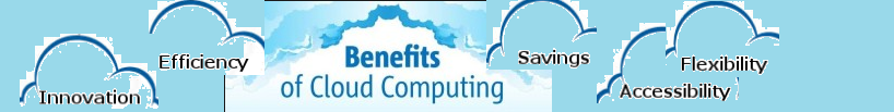 Benefits of cloud computing