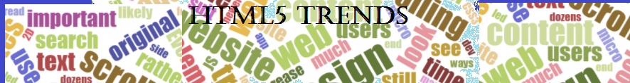 HTML5 Trends