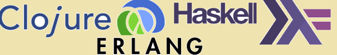 Clojure, Haskell and Erlang – A brief overview