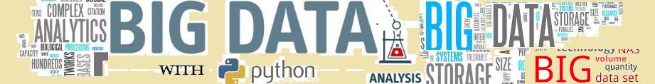 Big Data and Python