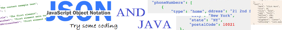JSON and Java