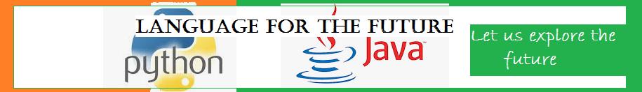 Python and Java