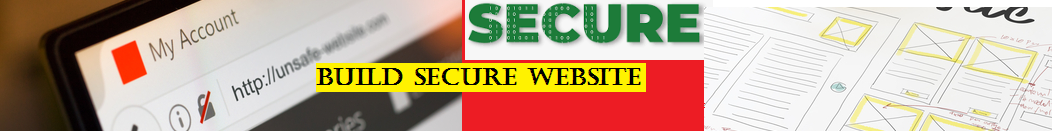 Build secure website