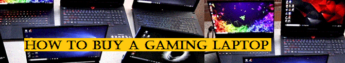How to choose your laptop gamer?