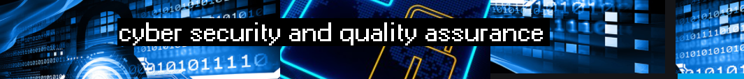 cybersecurity and quality assurance